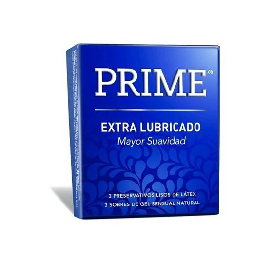 Prime Extralubricado x 3